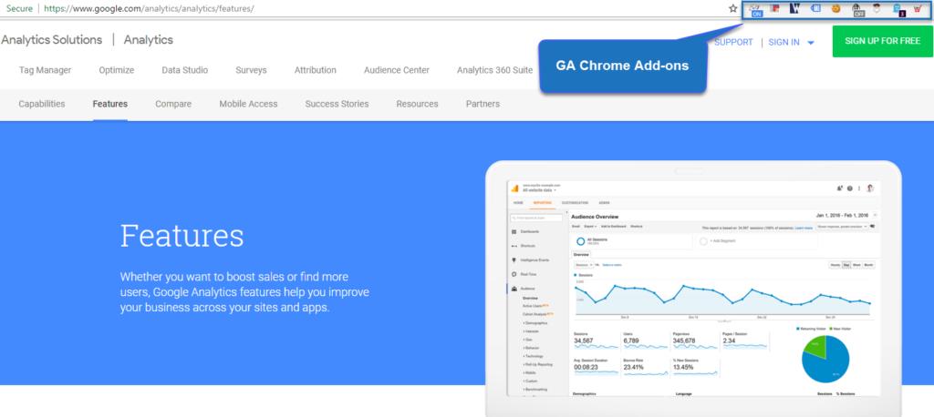 Google Analytics - Analysis Tool