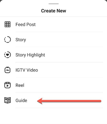 How to access Instagram Guides